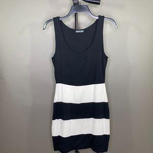 Soprano Black and White Dress M